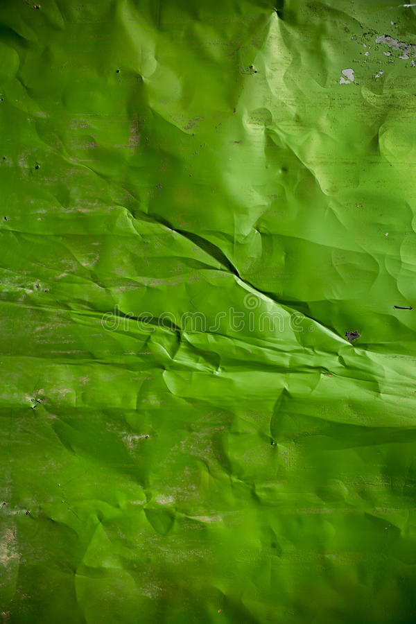 Grunge绿色金属背景 免版税库存照片