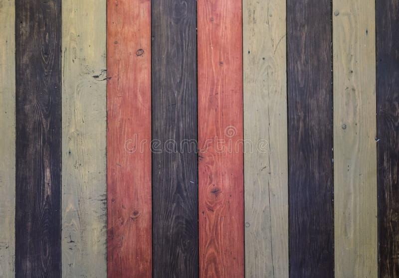 Grunge老木背景 硬木上色了地板或桌或者门或者上升限度结构 特写镜头 复制空间 库存照片