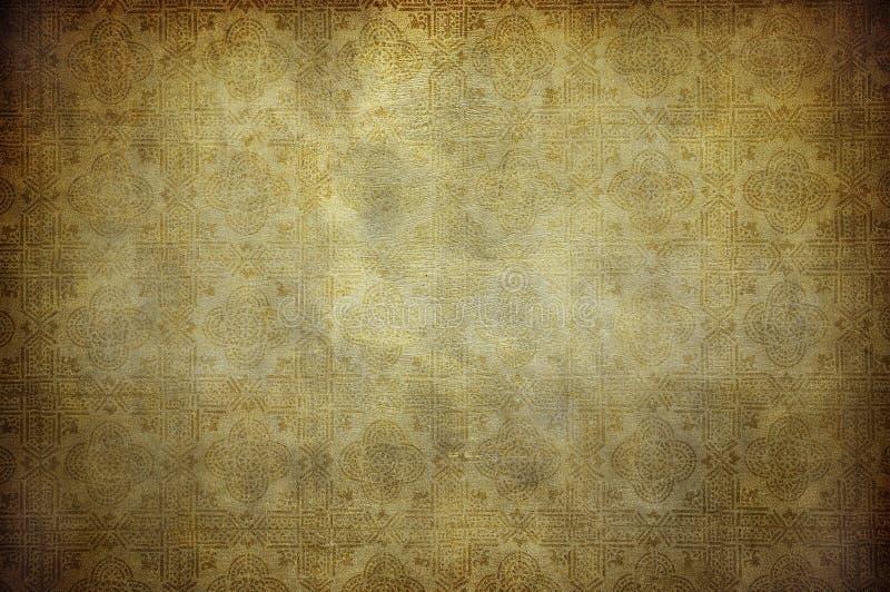 Grunge葡萄酒墙纸 皇族释放例证
