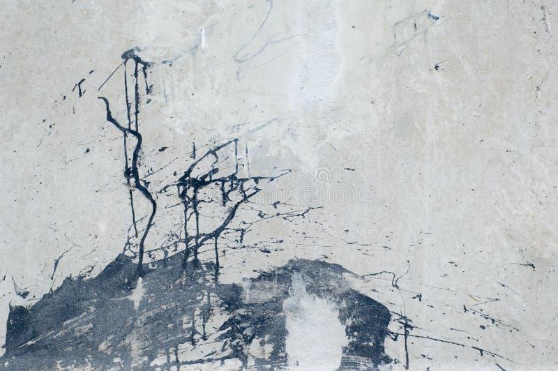 grunge被撕毁的墙壁 免版税库存照片
