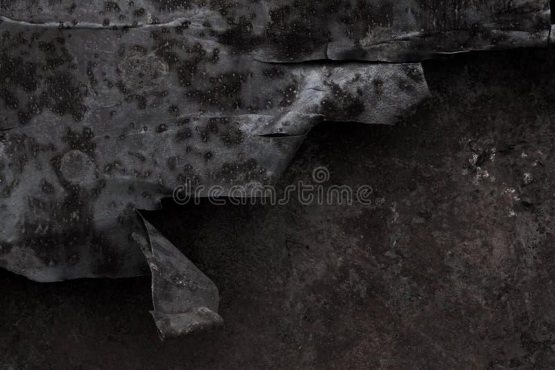 Grunge金属背景 免版税库存照片