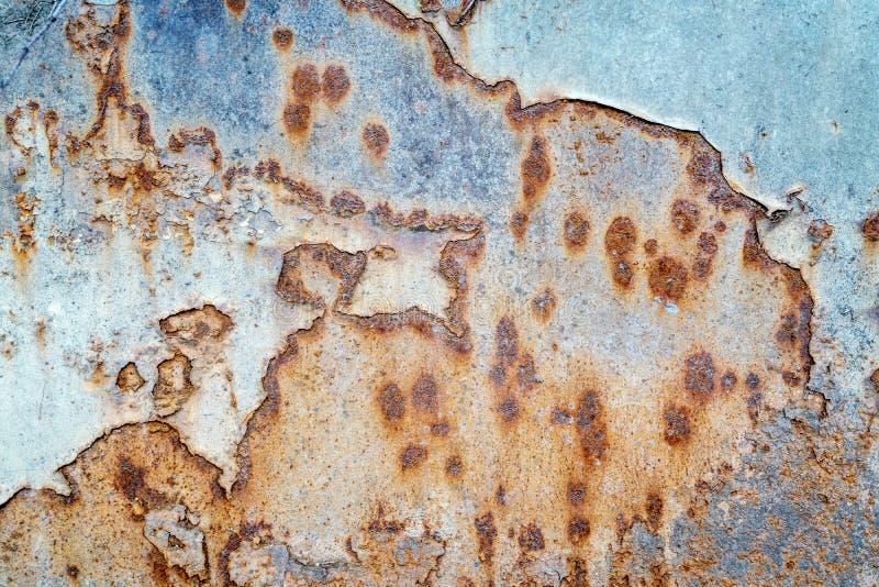grunge金属被绘的纹理 免版税库存图片