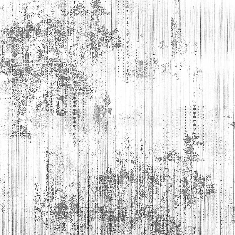 Grunge ściana Martwiący wzór Abstrakcjonistyczna atrament narzuta obraz royalty free
