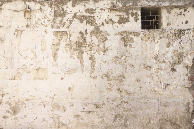 Grunge ściana stary dom tło textured obrazy royalty free