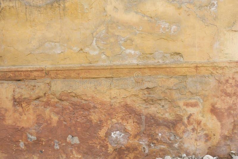 Grunge ściana stary dom tło textured obraz stock