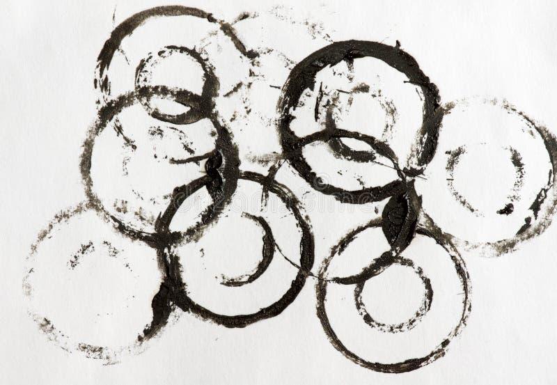 grunge ślada wazeliniarscy papierowi zdjęcia stock