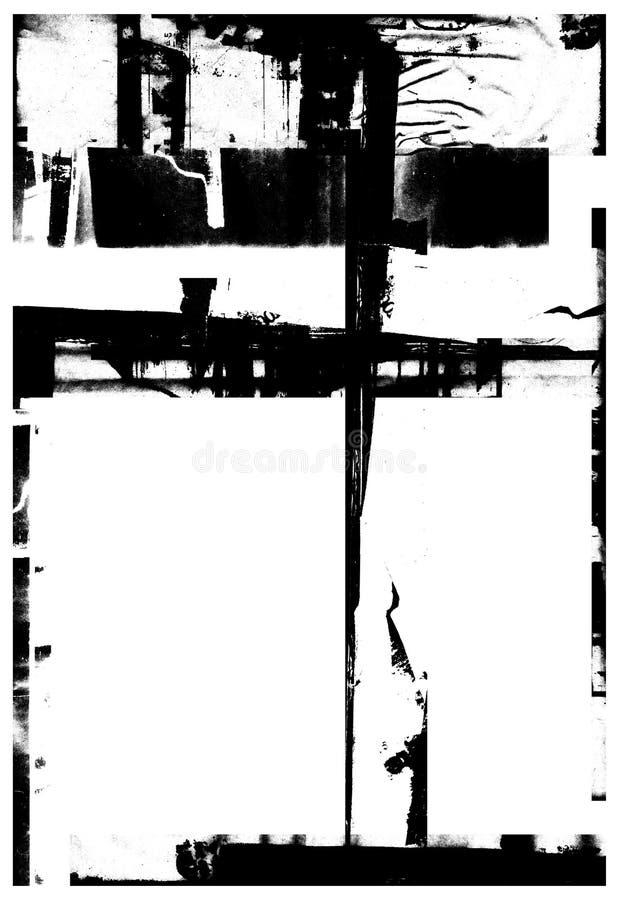 grunge απορρίμματα απεικόνιση αποθεμάτων