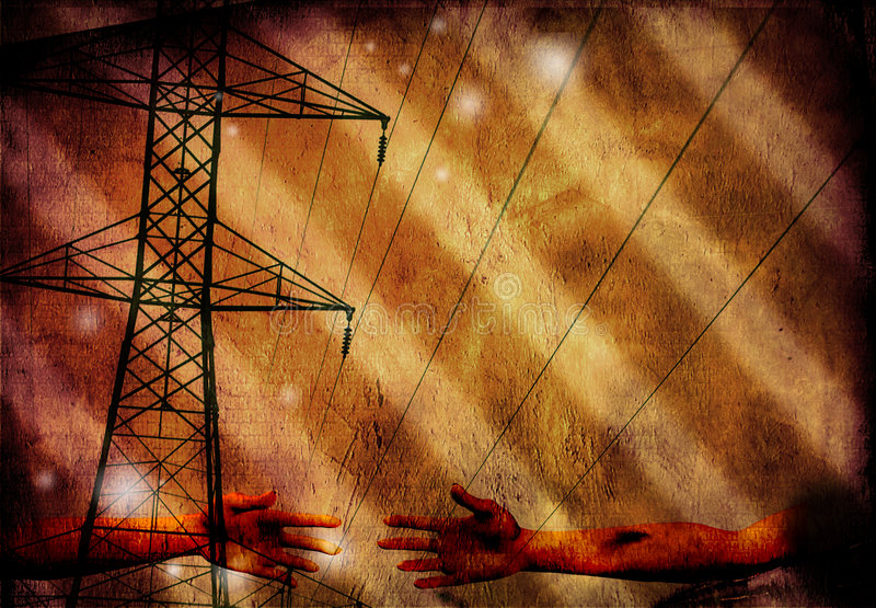 grunge βιομηχανικός διανυσματική απεικόνιση