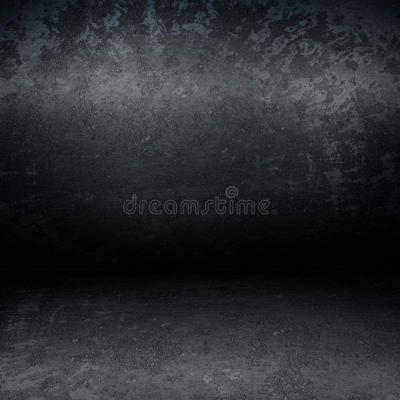 grunge δωμάτιο μετάλλων διανυσματική απεικόνιση