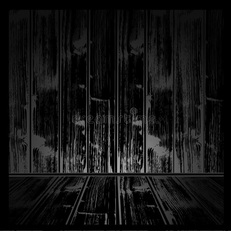 grunge δωμάτιο απεικόνιση αποθεμάτων
