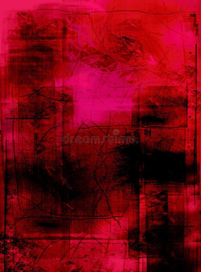 grunge ζωγραφική που τονίζεται στοκ φωτογραφία