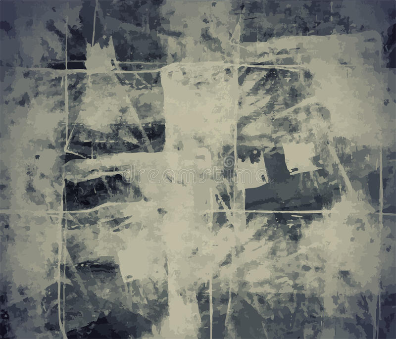 Grunge διανυσματική υποβάθρου τέχνης ύφους αναδρομική στενοχωρημένη σύσταση ύφους Editable εκλεκτής ποιότητας Μεγάλο σκηνικό στοι ελεύθερη απεικόνιση δικαιώματος