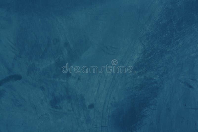 Grunge και αφηρημένο και σκούρο μπλε υπόβαθρο τόνου με το σχέδιο και τη σύσταση του τσιμέντου στοκ φωτογραφία