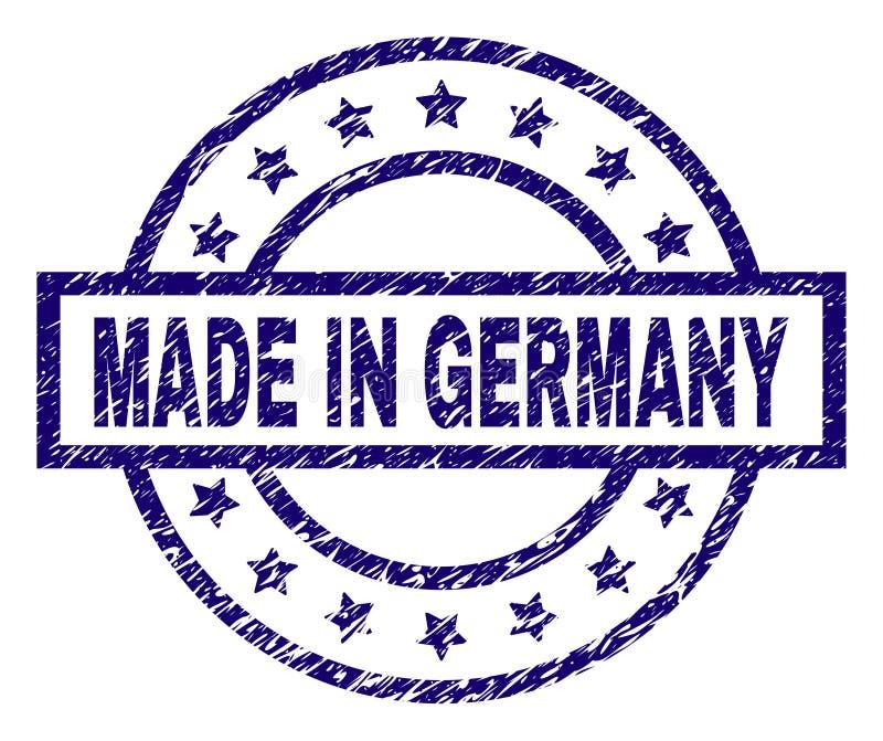Grunge κατασκευασμένο ΠΟΥ ΚΑΝΕΙ στη σφραγίδα γραμματοσήμων της ΓΕΡΜΑΝΙΑΣ ελεύθερη απεικόνιση δικαιώματος