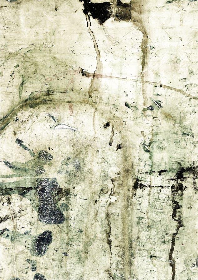 grunge λεκιασμένη μελάνι σύστα&sig στοκ φωτογραφία με δικαίωμα ελεύθερης χρήσης