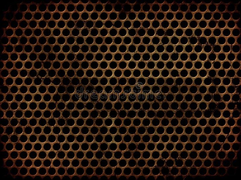 grunge μέταλλο που διατρυπιέτ&a απεικόνιση αποθεμάτων
