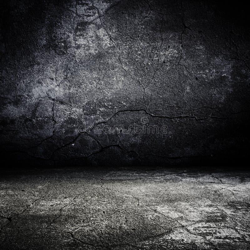 grunge παλαιό δωμάτιο scary απεικόνιση αποθεμάτων