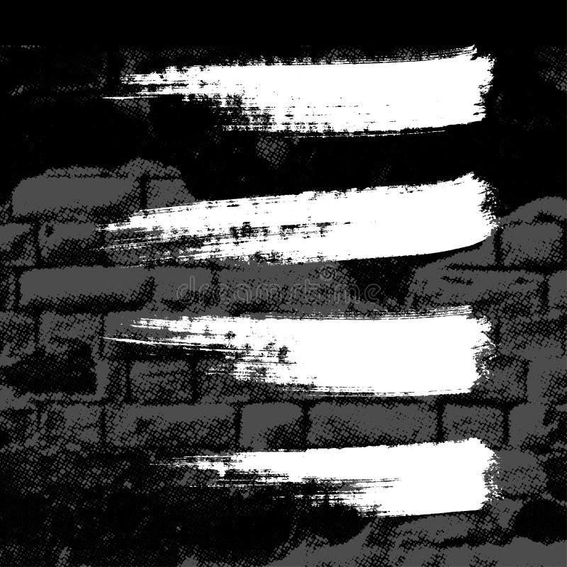 grunge τοίχος απεικόνιση αποθεμάτων