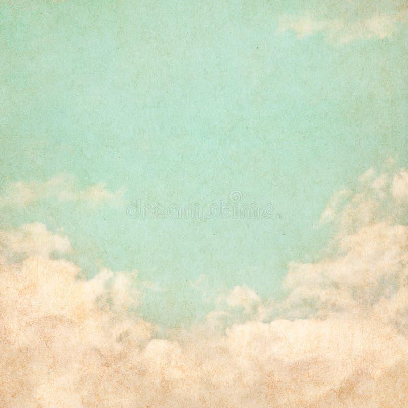 grunge τρύγος ουρανού στοκ φωτογραφία με δικαίωμα ελεύθερης χρήσης