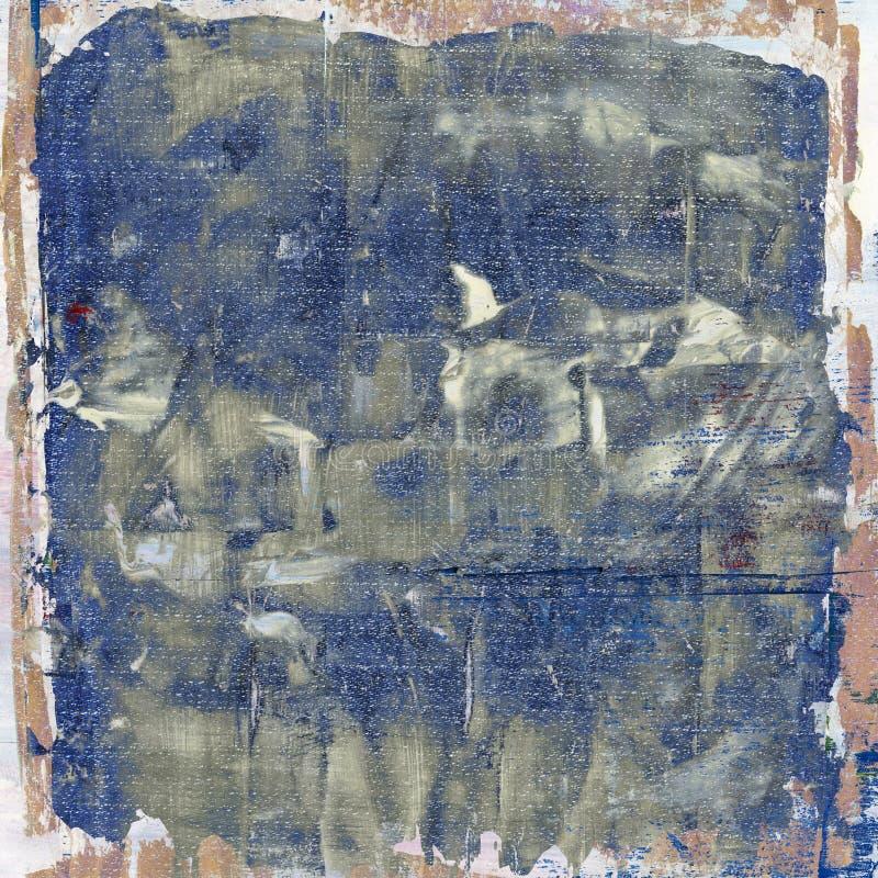 Grunge, χρωματισμένο υπόβαθρο τζιν διανυσματική απεικόνιση
