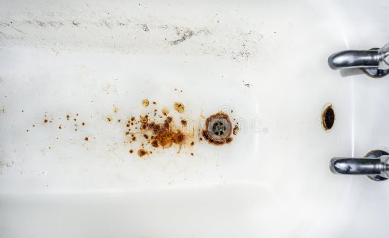 Grunge ванны стоковые фото
