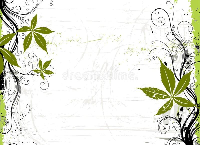 grunge виноградины предпосылки иллюстрация штока