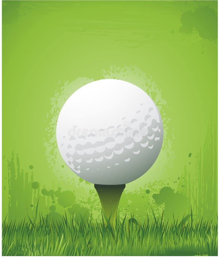grunge гольфа предпосылки бесплатная иллюстрация