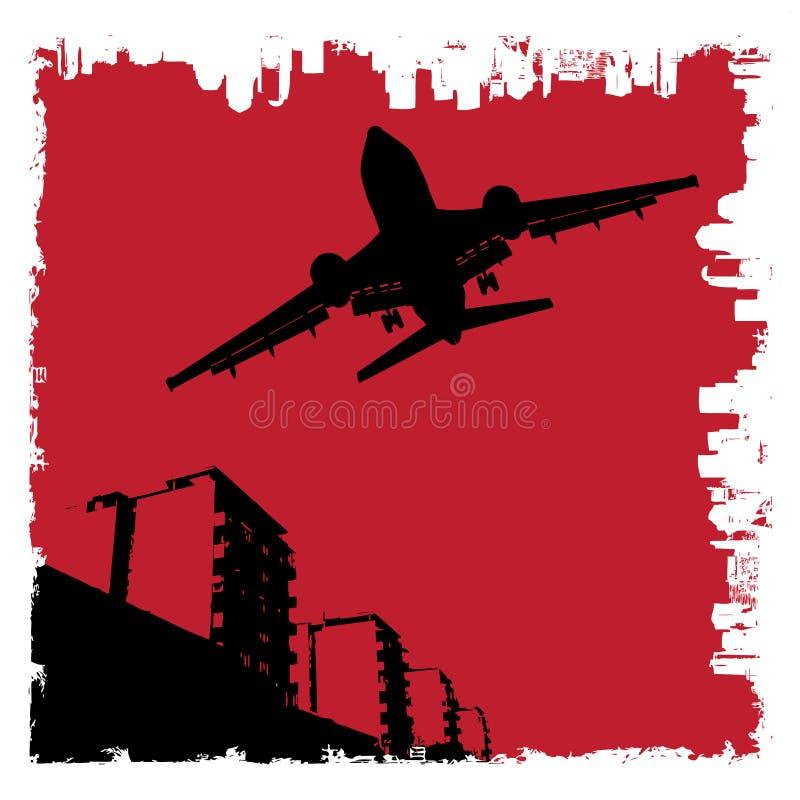 grunge города бесплатная иллюстрация
