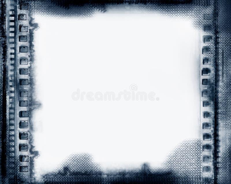 grunge граници иллюстрация вектора
