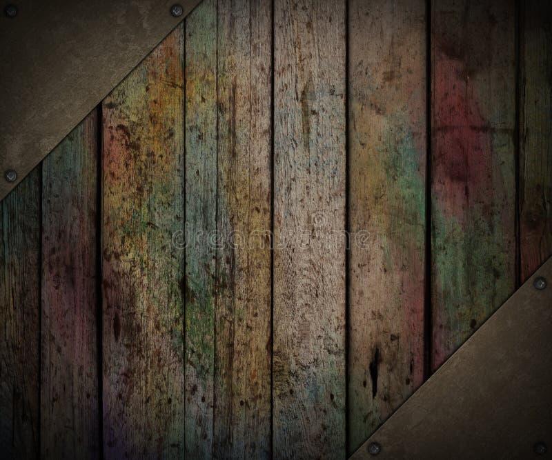 Grunge деревянный стоковые изображения rf