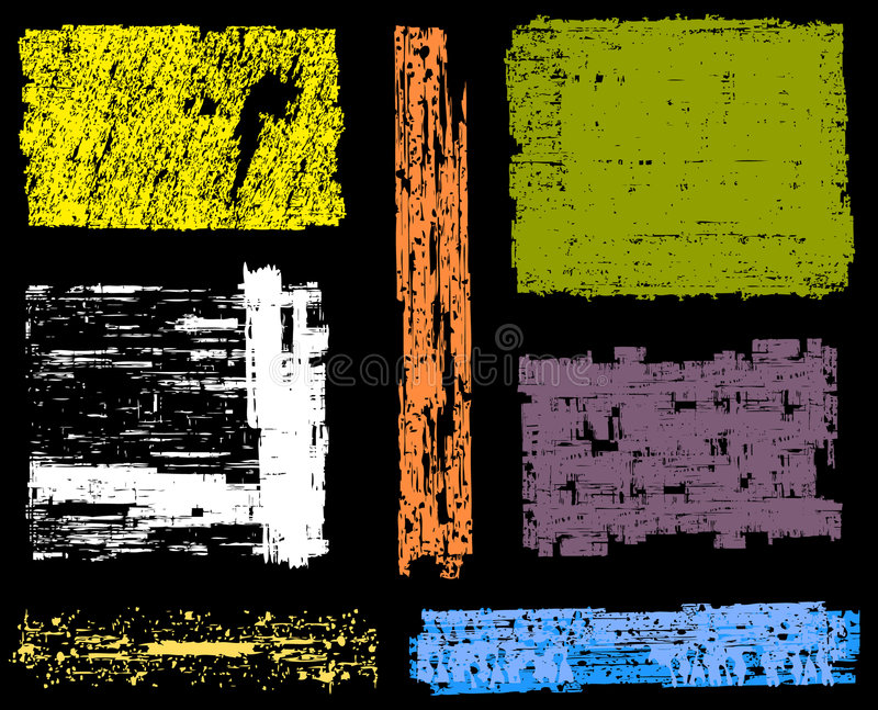 grunge знамен предпосылок иллюстрация штока