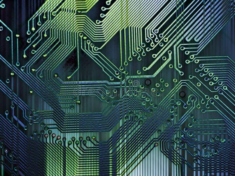 grunge компьютера предпосылки иллюстрация вектора