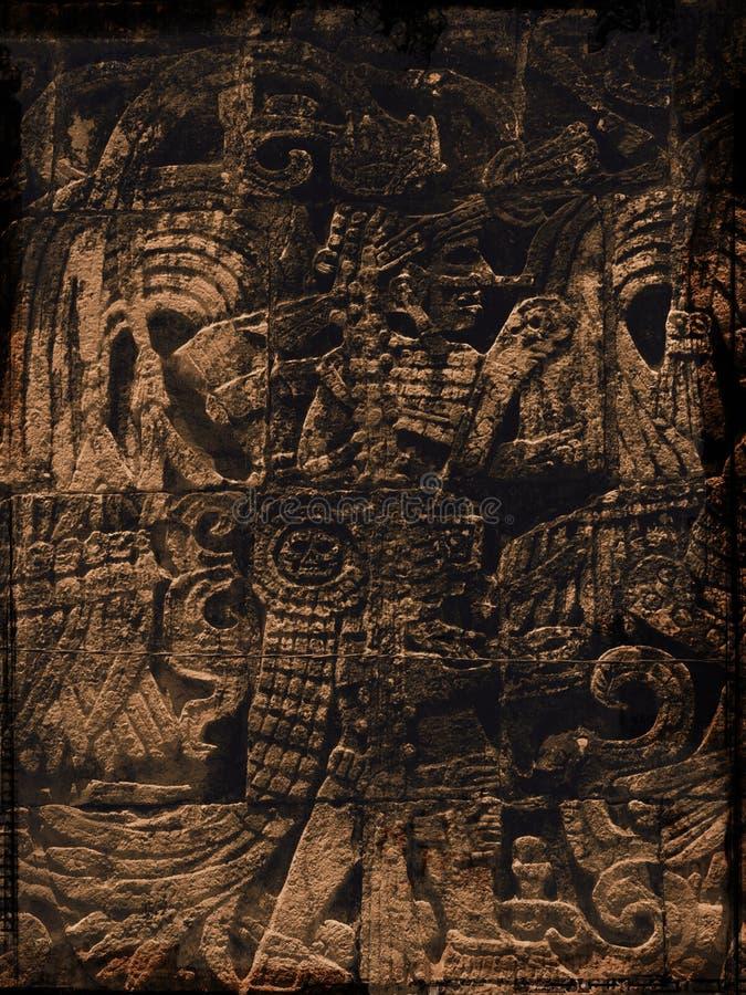 grunge майяское бесплатная иллюстрация