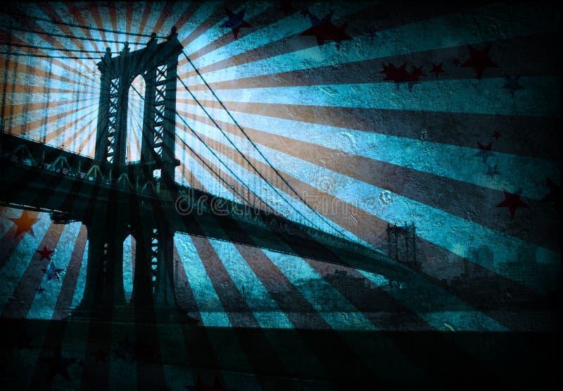 grunge моста бесплатная иллюстрация