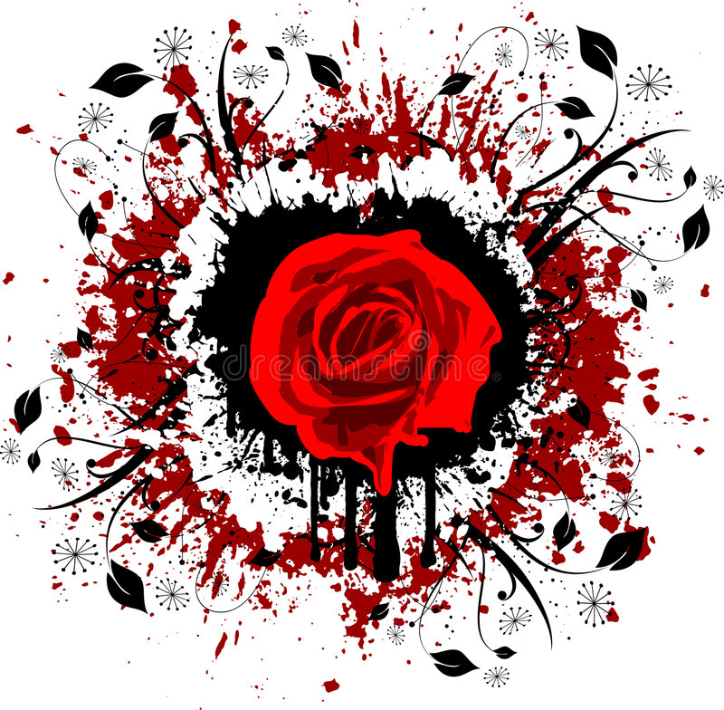grunge подняло иллюстрация штока
