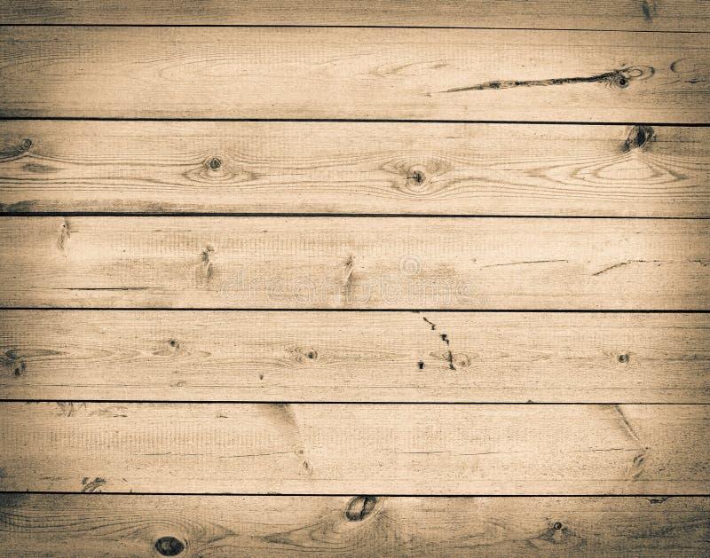 grunge предпосылки коричневое деревянное Пустая стена текстуры стоковое изображение
