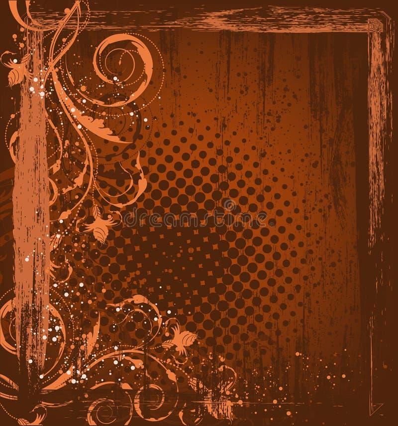 grunge предпосылки осени бесплатная иллюстрация
