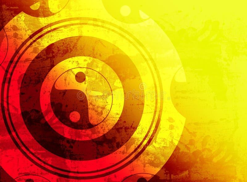 grunge предпосылки иллюстрация вектора