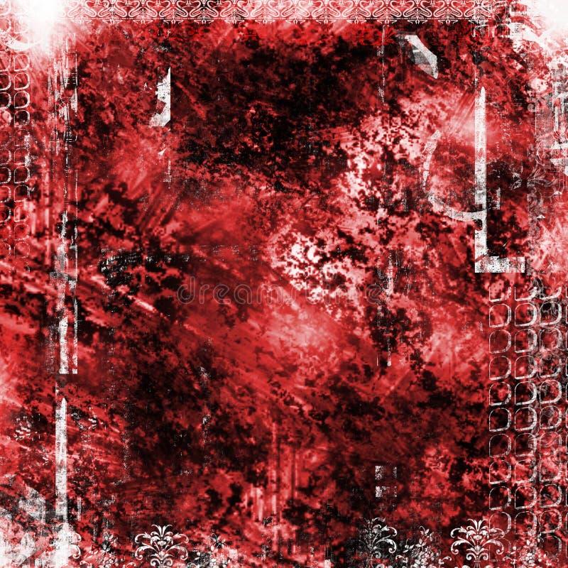 Download Grunge предпосылки иллюстрация штока. изображение насчитывающей запятнано - 600188