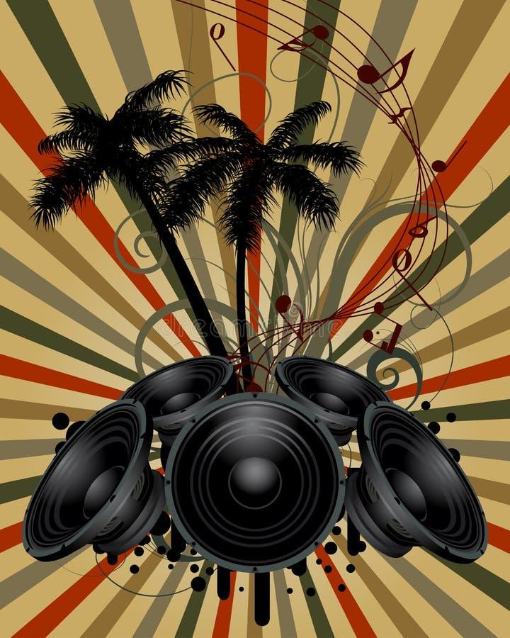 grunge предпосылки musial бесплатная иллюстрация