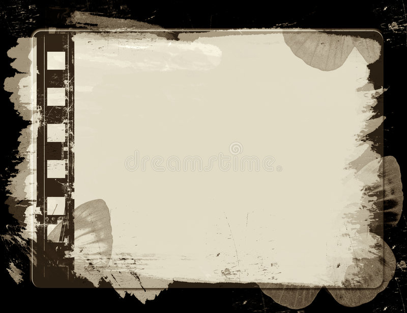 grunge рамки пленки иллюстрация штока