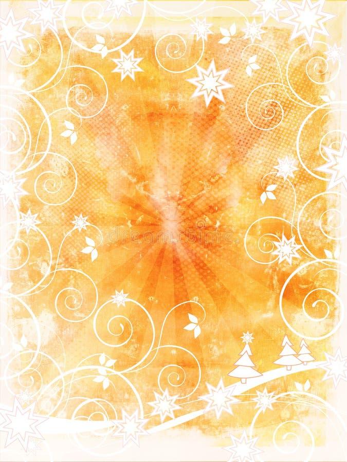Download Grunge рождества предпосылки Иллюстрация штока - иллюстрации насчитывающей vintage, страна: 6860414