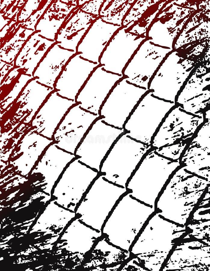 Grunge 01 combinados ilustración del vector