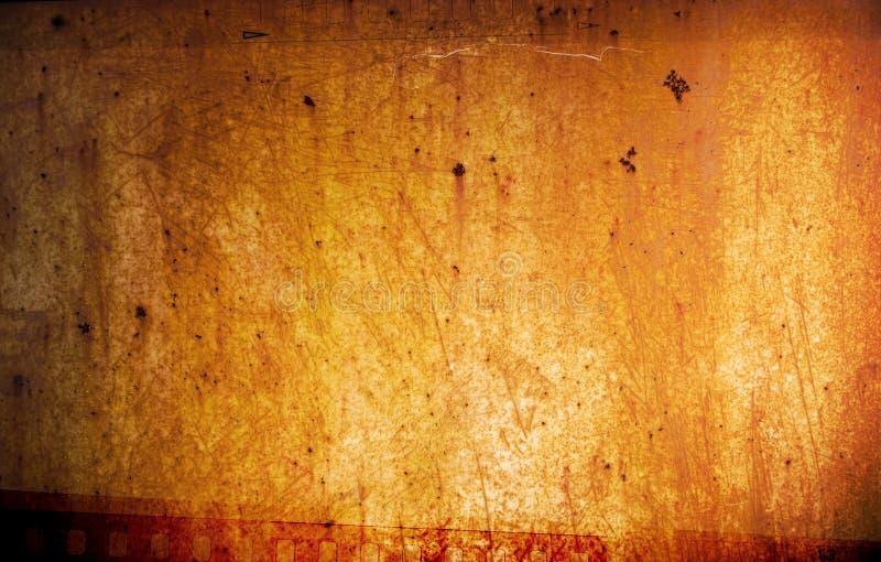 Grunge 35mm achtergrond stock fotografie