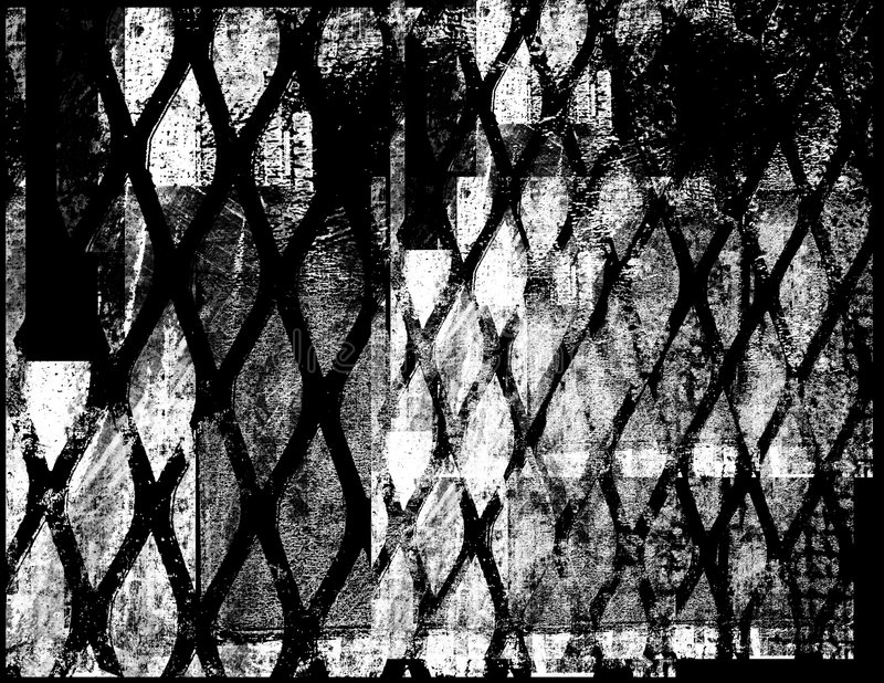 grunge 4 предпосылок иллюстрация вектора