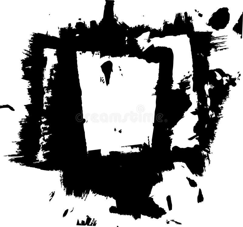 Grunge ilustração do vetor