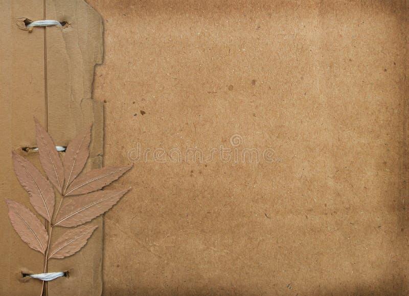 Grunge Abdeckung für ein Album mit Fotos lizenzfreie abbildung
