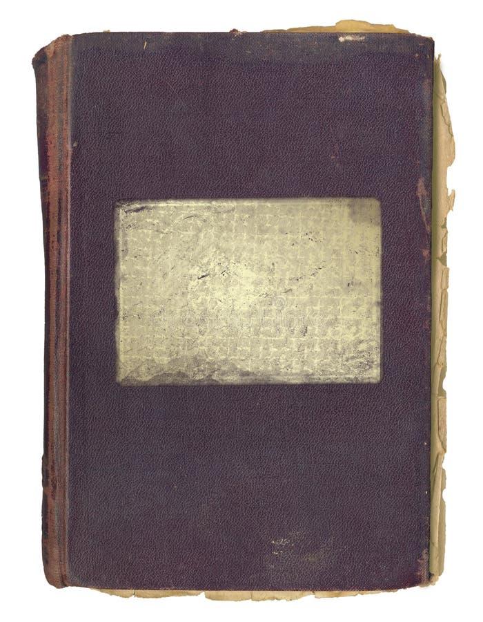 Grunge Abdeckung für ein Buch oder Album mit Änderung am Objektprogramm stock abbildung