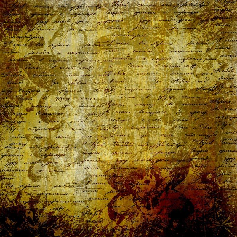 Download Grunge abstract background stock illustration. Image of manuscript - 28908004