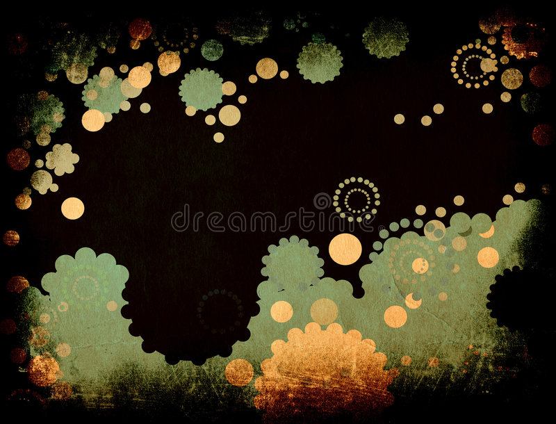 Download Grunge abstract design stock illustration. Image of circles - 1945049